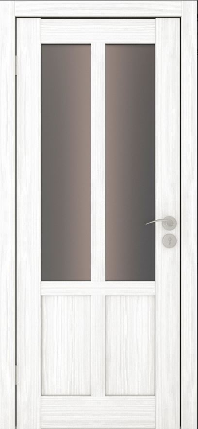 Межкомнатные двери Исток Палермо-2 Ясень белый брнза