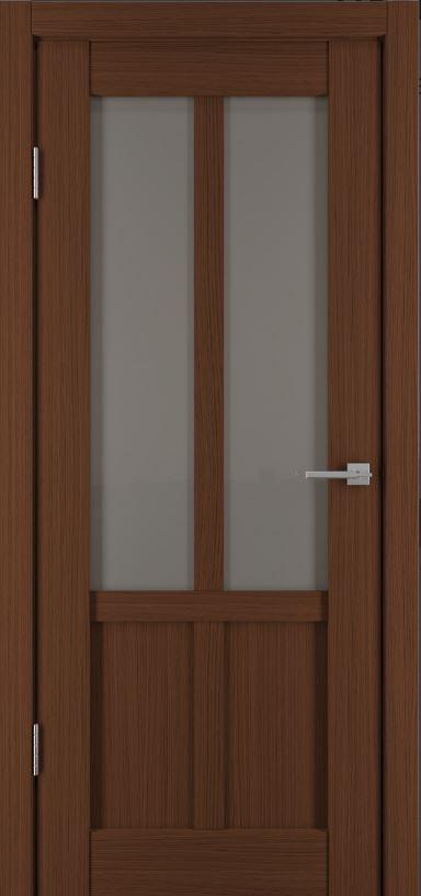 Межкомнатные двери Исток Палермо-2 Каштан мелинга бронза