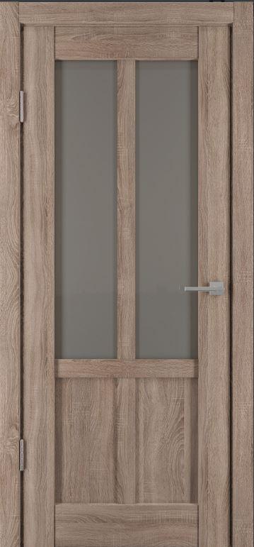 Межкомнатные двери Исток Палермо-2 Спил седой бронза