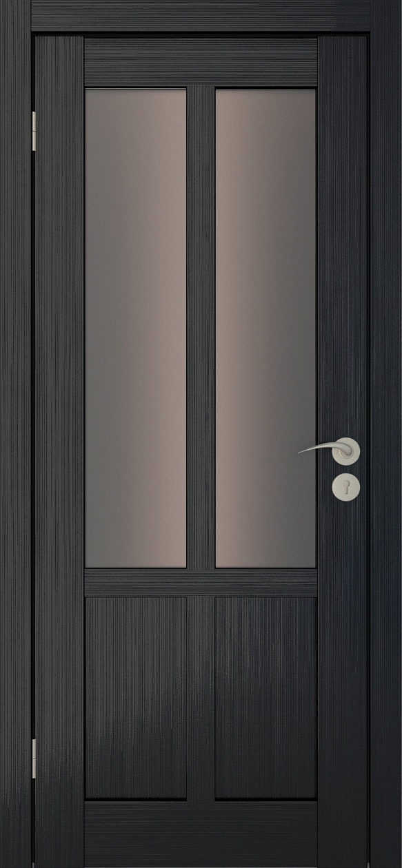 Межкомнатные двери Исток Палермо-2 Венге мелинга бронза