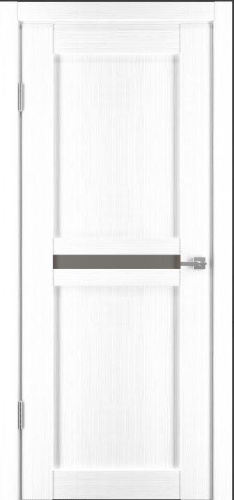 Межкомнатные двери Исток Паола-1 Ясень белый бронза