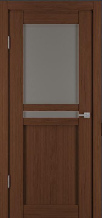 Межкомнатные двери Исток Паола-2 Каштан мелинга бронза