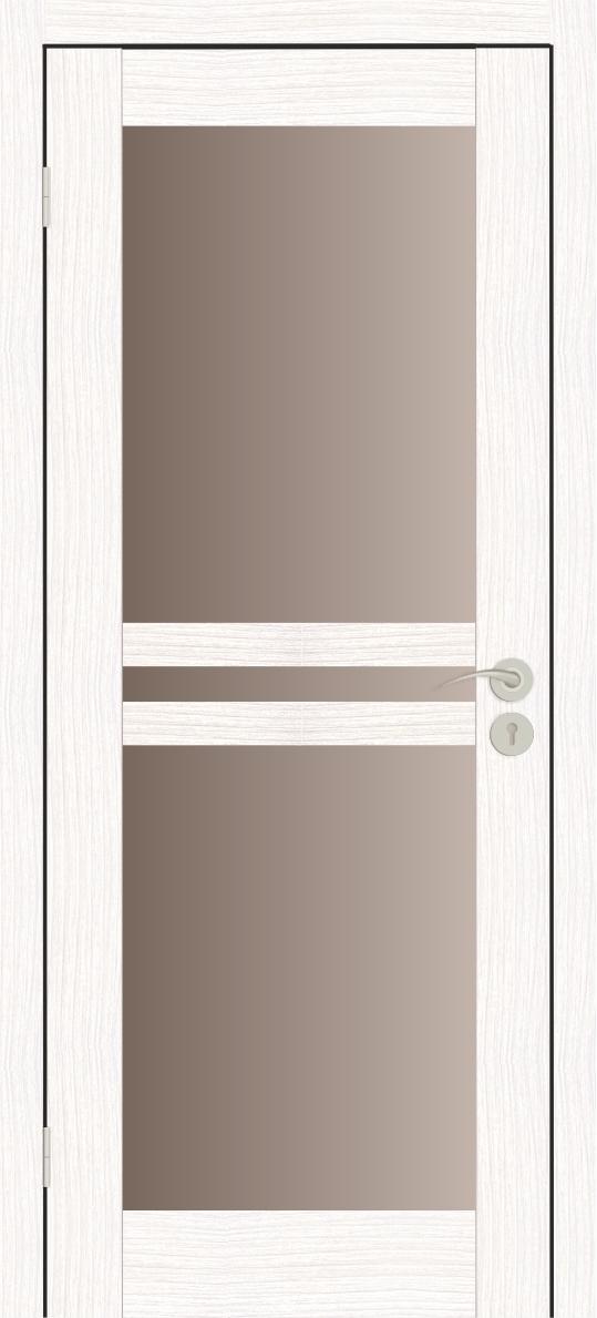 Межкомнатные двери Исток Паола-3 Бьянко бронза