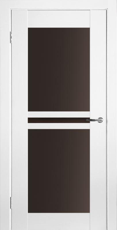 Межкомнатные двери Исток Паола-3 Ясень белый бронза