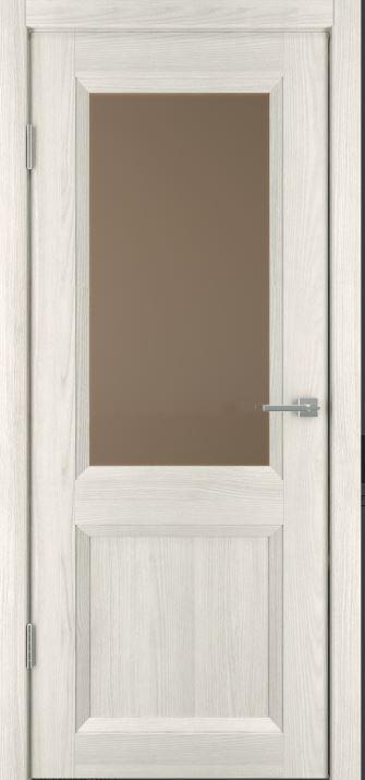 Межкомнатные двери Исток Прайм-4 Дуб снежный бронза
