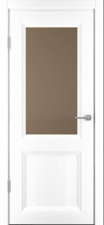 Межкомнатные двери Исток Прайм-4 Ясень белый бронза
