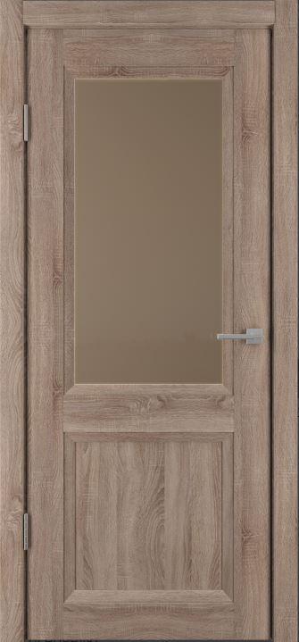Межкомнатные двери Исток Прайм-4 Спил седой бронза