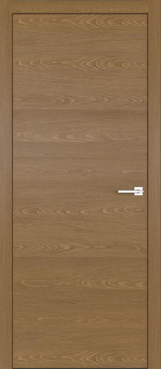 Межкомнатные двери из натурального шпона дуба Симпл 02 Карамель