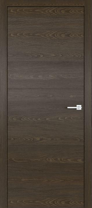 Межкомнатные двери из натурального шпона дуба Симпл 02 Корица
