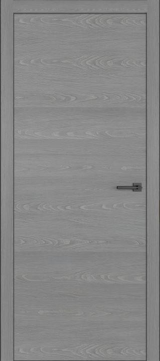 Межкомнатные двери из натурального шпона дуба Симпл 02 Пепел