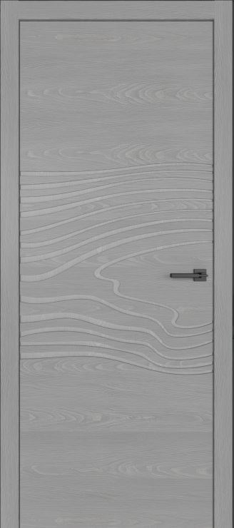 Межкомнатные двери из шпона дуба Симпл 102 с фрезеровкой Аргенто