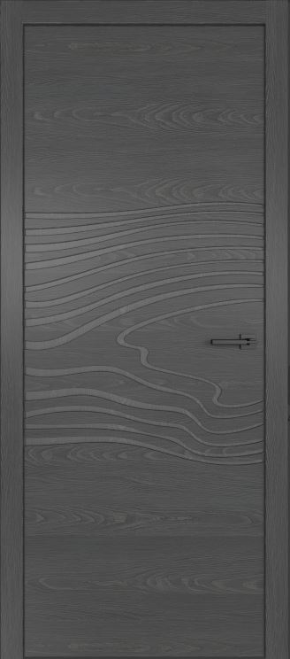 двери из натурального шпона дуба Симпл 102 с фрезеровкой Клауд