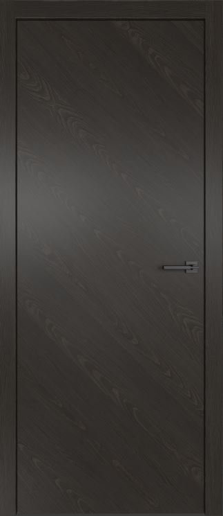 Двери межкомнатные из натурального шпона дуба Симпл 50 Гриджио
