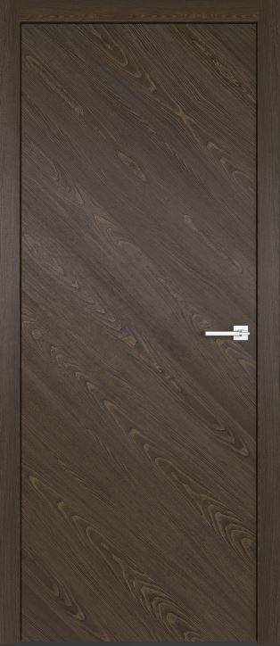 Межкомнатные двери из натурального шпона дуба Симпл 50 Корица