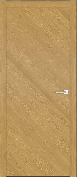 Межкомнатные двери шпон дуба Симпл 50 Натур