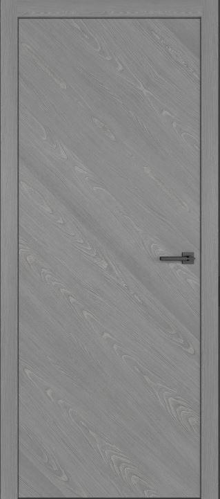 Двери из натурального шпона дуба Симпл 50 Пепел