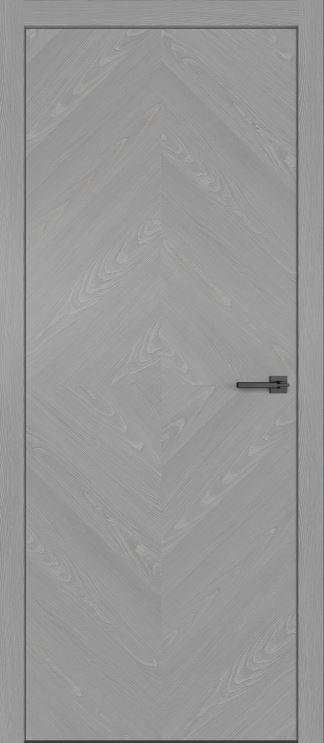 Межкомнатные двери из натурального шпона дуба Симпл 55 Аргенто