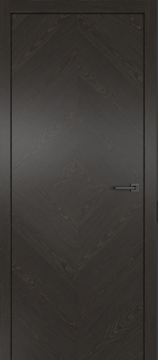Межкомнатные двери из натурального шпона дуба Симпл 55 Гриджио