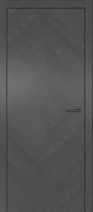 Межкомнатные двери из натурального шпона дуба Симпл 55 Клауд