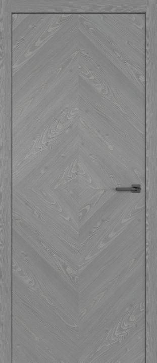 двери из натурального шпона дуба Симпл 55 Пепел