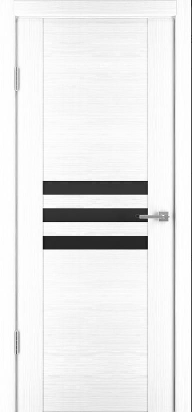 Межкомнатные двери Исток Стиль-1 Ясень белый бронза