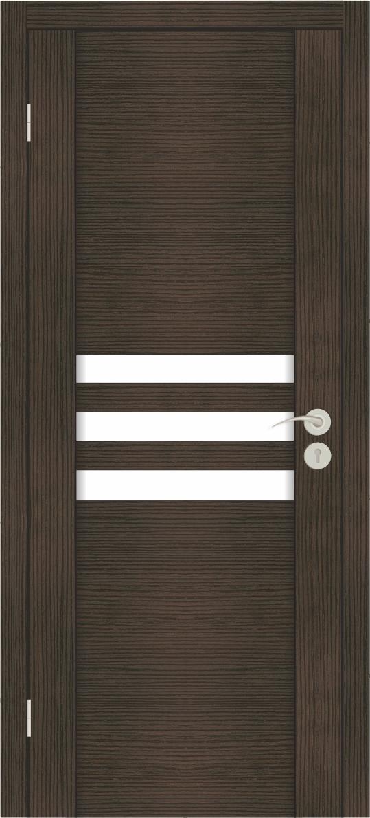 Межкомнатные двери Исток Силь-1 Венге мелинга