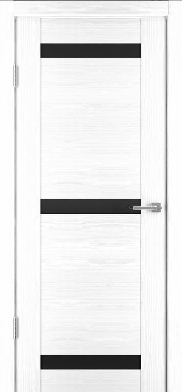 Межкомнатные двери Исток Стиль-2 Ясень белый бронза