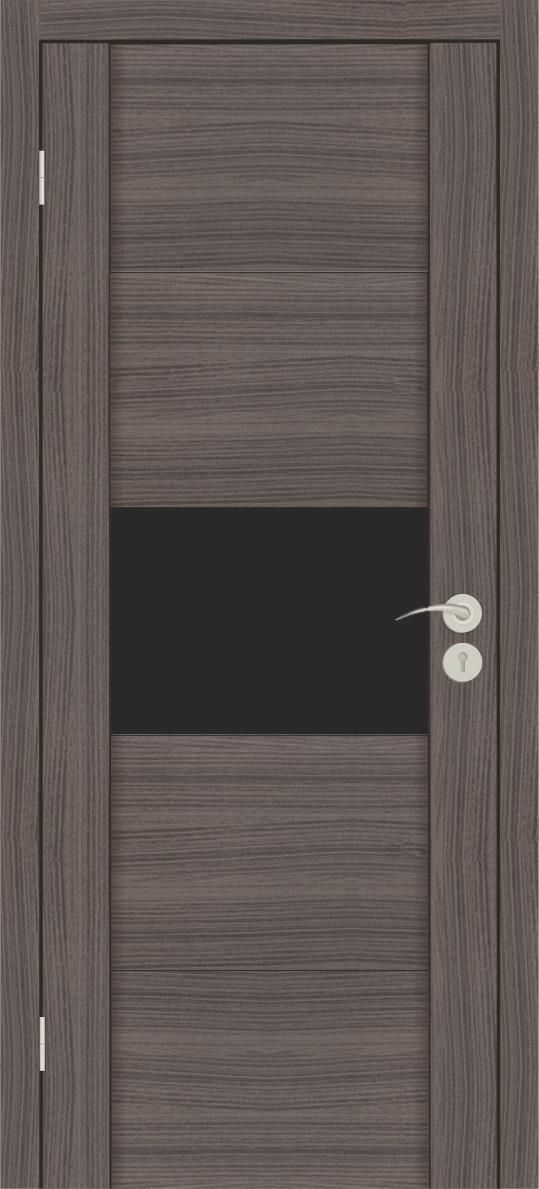 Межкомнатные двери Исток Стиль-3 Дуб неаполь бронза