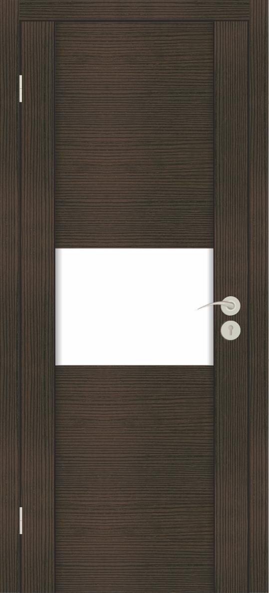 ежкомнатные двери Исток Силь-3 Венге мелинга