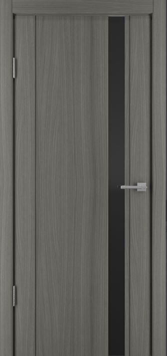 Межкомнатные двери Исток Стиль-5 Дуб неаполь черное