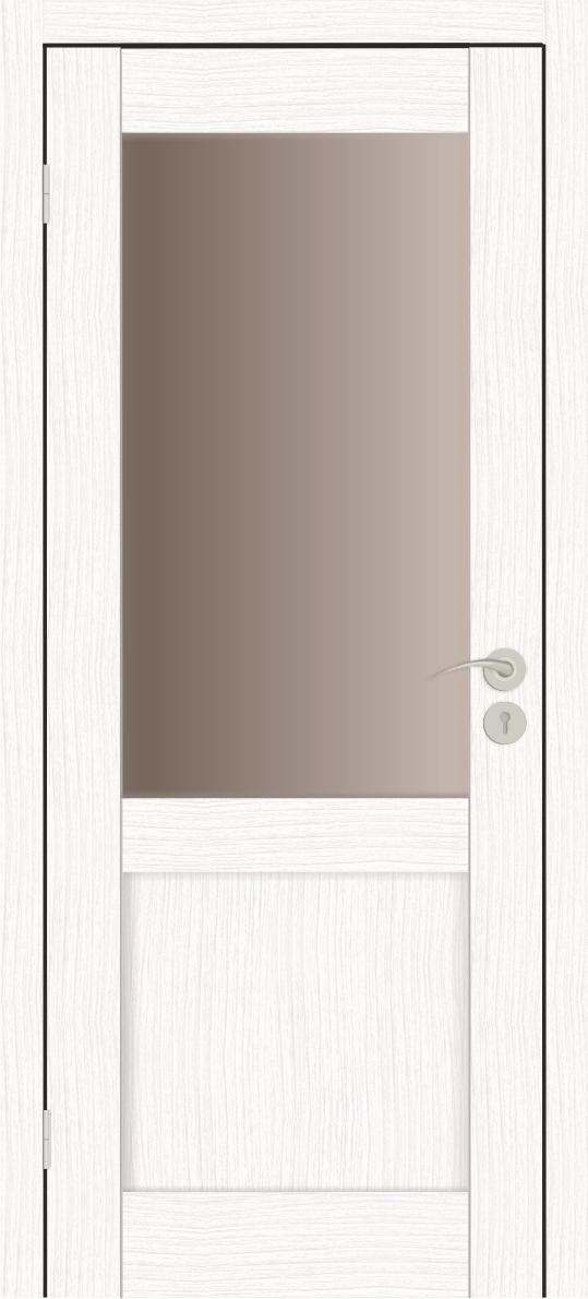 Межкомнатные двери Исток Вега-2 Бьянко бронза