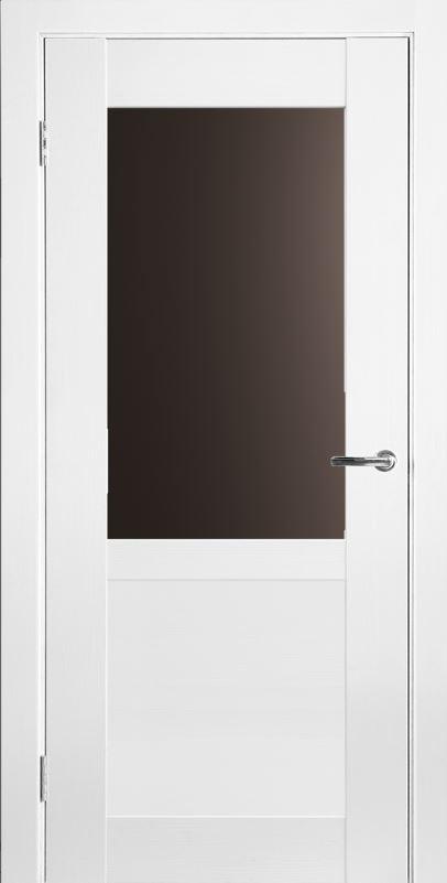 Межкомнатные двери Исток Вега-2 Ясень белый бронза
