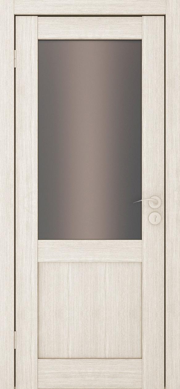 Межкомнатные двери Исток Вега-2 Капучино бронза