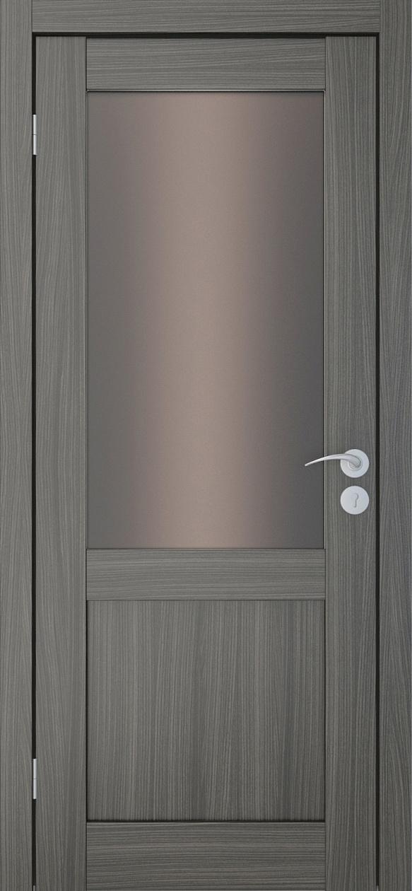 Межкомнатные двери Исток Вега-2 Дуб неаполь бронза