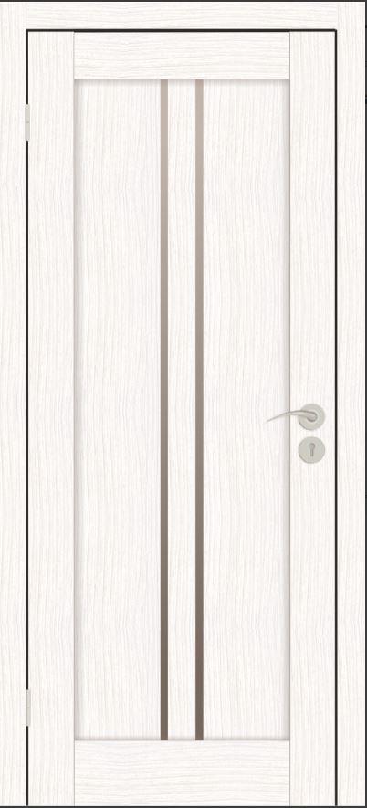 Межкомнатные двери Исток Вертикаль-1 Бьянко белый