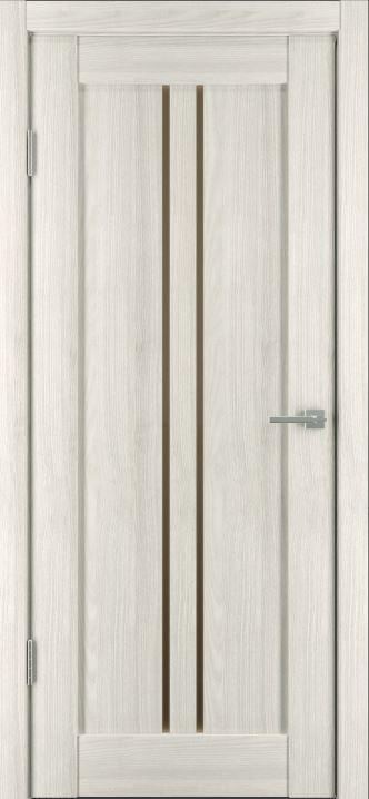 Межкомнатные двери Исток Вертикаль-1 Дуб снежный бронза