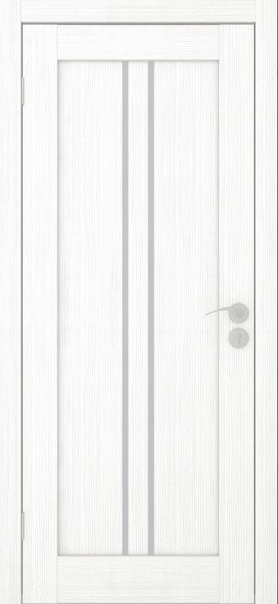 Межкомнатные двери Исток Вертикаль-1Ясень белый