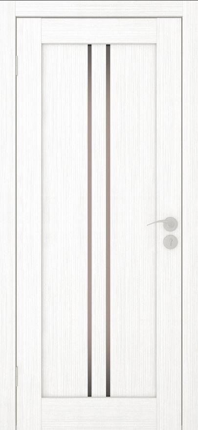Межкомнатные двери Исток Вертикаль-1Ясень белый бронза