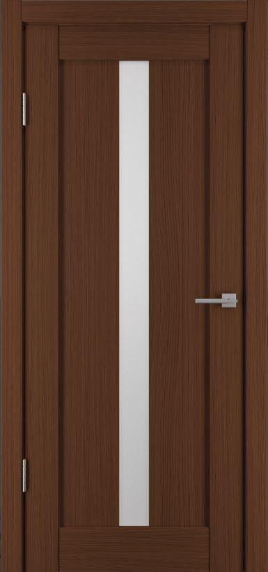 Межкомнатные двери Исток Вертикаль-2 Каштан мелинга