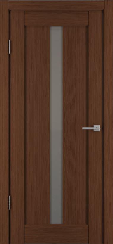 Межкомнатные двери Исток Вертикаль-2 Каштан мелинга бронза