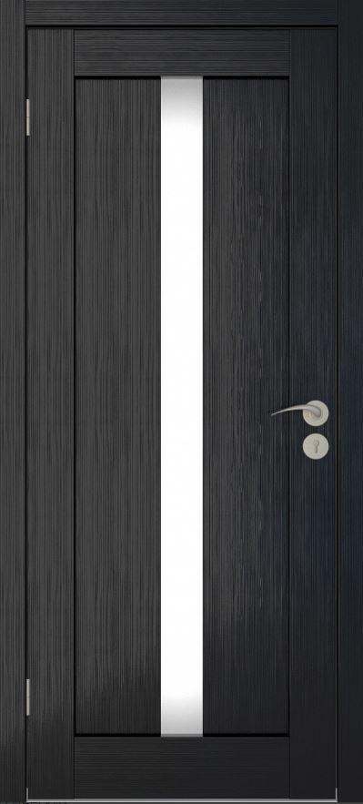 Межкомнатные двери Исток Вертикаль-2 Венге мелинга
