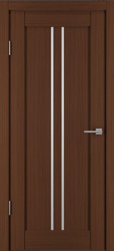 Межкомнатные двери Исток Вертикаль-1 Каштан мелинга