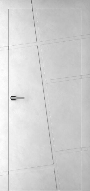 Межкомнатные двери Ostium ID 2 Бетон серый