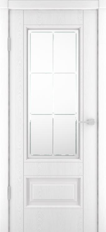 Межкомнатная дверь Сканди -1 ДО Эмаль белая