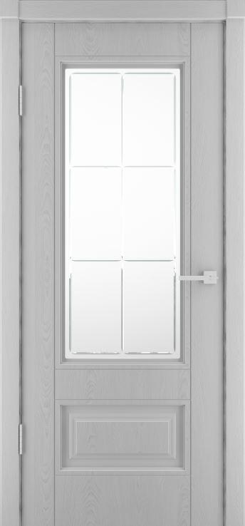 Межкомнатные двери Сканди-1 Эмаль светло серая ДО