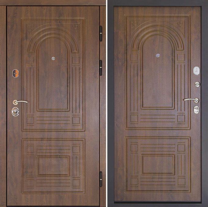 Входные двери ДК Флоренция золотой дуб