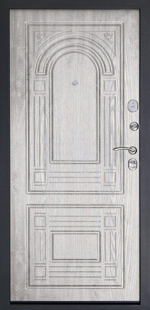 Дверь входная ДК Флоренция Беленый дуб