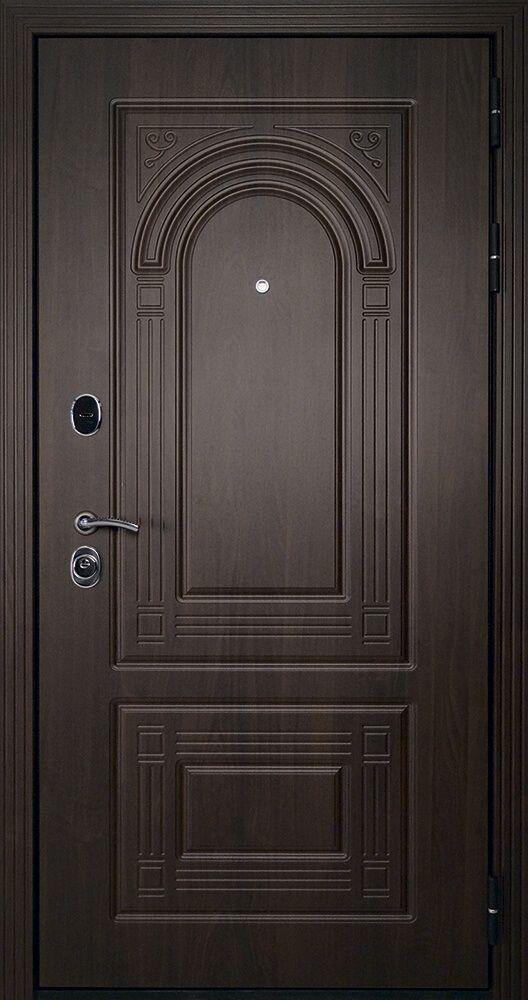 Входные двери ДК Флоренция Темный орех