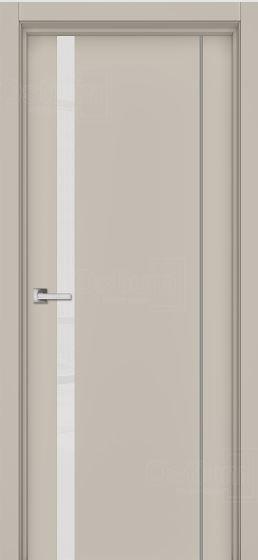 Двери межкомнатные остиум Дельта ДО эмаль латте