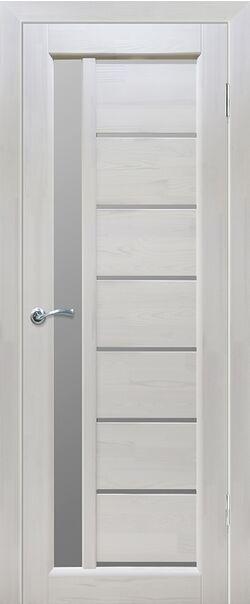 Двери массив сосны Вега 9 Белая